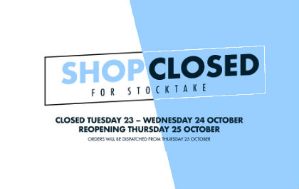 Closed For Stock Take