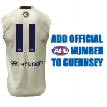 OFFICIAL NUMBER ON GUERNSEY